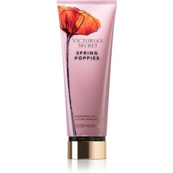 Victoria's Secret Wild Blooms Spring Poppies lapte de corp pentru femei