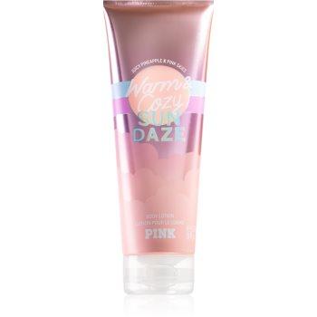 Victoria's Secret PINK Warm & Cozy Sun Dazed lapte de corp pentru femei