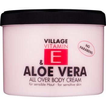 Village Vitamin E Aloe Vera crema de corp notino.ro