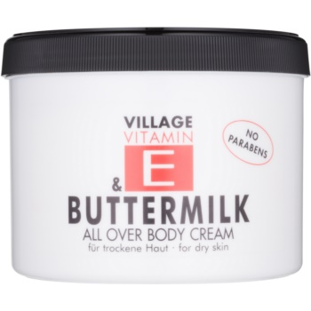 Village Vitamin E Buttermilk crema de corp imagine 2021 notino.ro