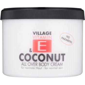 Village Vitamin E Coconut crema de corp notino.ro