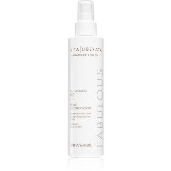 Vita Liberata Fabulous Self Tanning Mist Spray pentru protectie imagine 2021 notino.ro