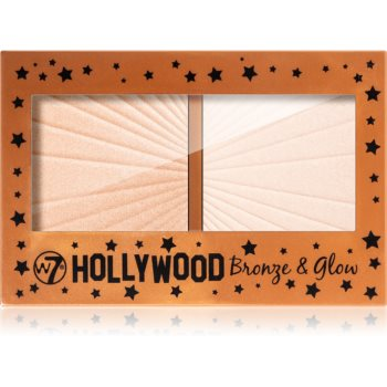 W7 Cosmetics Hollywood autobronzant și iluminator imagine 2021 notino.ro