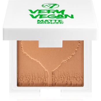 W7 Cosmetics Very Vegan Matte autobronzant cu efect matifiant imagine 2021 notino.ro