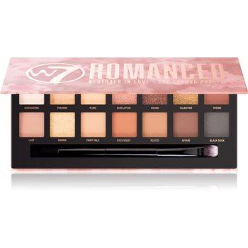 W7 Cosmetics Romanced paleta farduri de ochi imagine 2021 notino.ro