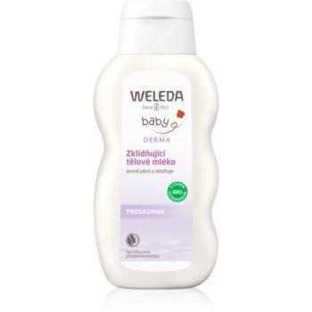 Weleda Baby Derma lapte de corp calmant pentru copii imagine 2021 notino.ro
