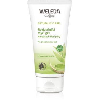 Weleda Naturally Clear gel de spălare, cu efect de iluminare pentru pielea problematica imagine 2021 notino.ro