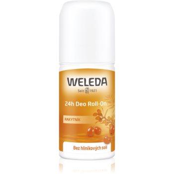 Weleda Sea Buckthorn deodorant roll-on fără săruri de aluminiu cu protectie 24h imagine 2021 notino.ro