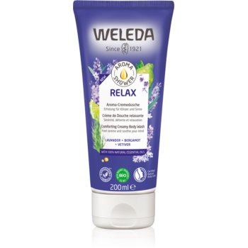 Weleda Relax cremă de duș relaxantă imagine 2021 notino.ro