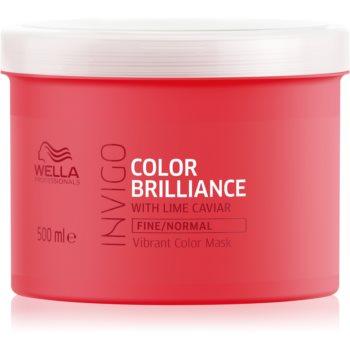 Wella Professionals Invigo Color Brilliance masca hidratanta pentru par fin si normal imagine 2021 notino.ro