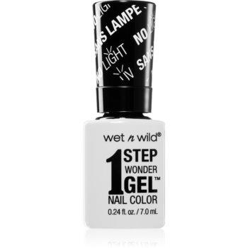 Wet N Wild 1 Step Wonder Gel gel de unghii fara utilizarea UV sau lampa LED imagine 2021 notino.ro