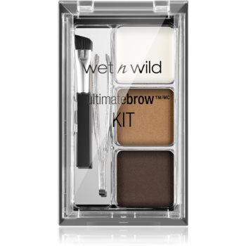 Wet n Wild Ultimate Brow set pentru sprancene perfecte imagine 2021 notino.ro