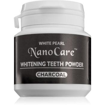 White Pearl NanoCare pudră cu cărbune activ, pentru albirea dinților imagine 2021 notino.ro