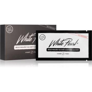 White Pearl Charcoal benzi pentru albirea dintilor imagine 2021 notino.ro