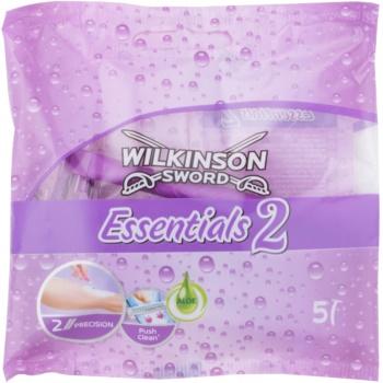 Wilkinson Sword Essentials 2 aparat de ras de unica folosinta 5 pc pentru femei imagine 2021 notino.ro