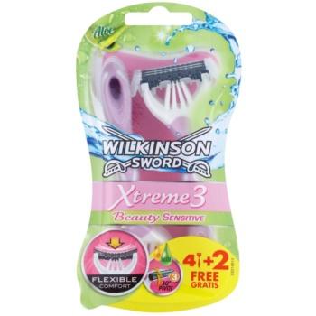 Wilkinson Sword Xtreme 3 Beauty Sensitive aparat de ras de unică folosință imagine 2021 notino.ro