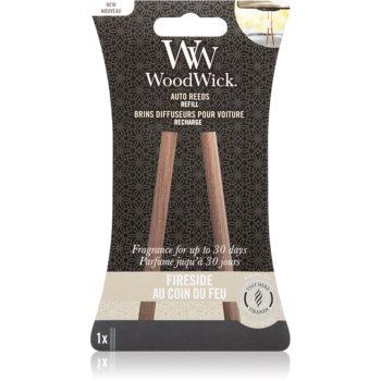 Woodwick Fireside parfum pentru masina rezervă