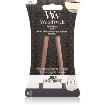Woodwick Linen parfum pentru masina rezervă