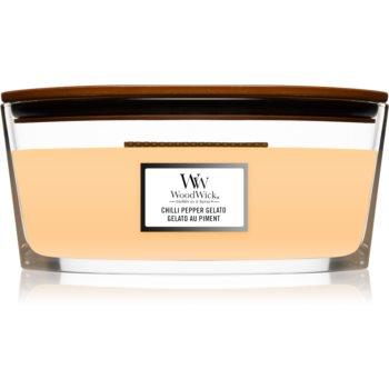 Woodwick Chilli Pepper Gelato lumanare parfumata cu fitil din lemn (hearthwick) image0