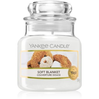 Yankee Candle Soft Blanket lumânare parfumată