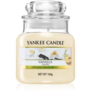 Yankee Candle Vanilla lumânare parfumată notino.ro