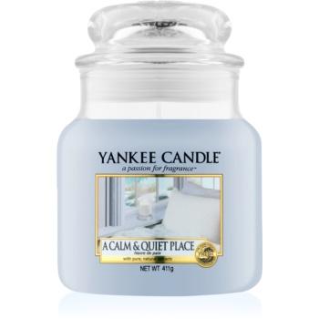 Yankee Candle A Calm & Quiet Place lumânare parfumată imagine 2021 notino.ro