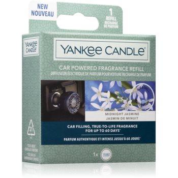 Yankee Candle Midnight Jasmine náhradní náplň pro vonný difuzér do autozásuvky