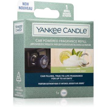 Yankee Candle Vanilla Lime parfum pentru masina rezervă