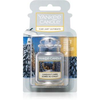 Yankee Candle Candlelit Cabin vůně do auta závěsná