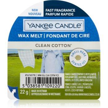 Yankee Candle Clean Cotton ceară pentru aromatizator I.