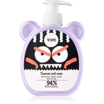 Yope Coconut & Mint Săpun lichid pentru mâini pentru copii imagine 2021 notino.ro
