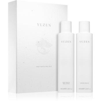 Yuzen Duo Daily Gentle Peel set de cosmetice (pentru strălucirea și netezirea pielii) notino poza