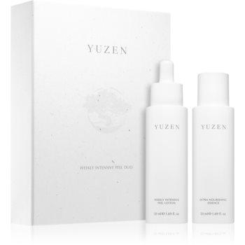 Yuzen Duo Weekly Intenstive Peel set de cosmetice (pentru definirea pielii) notino poza