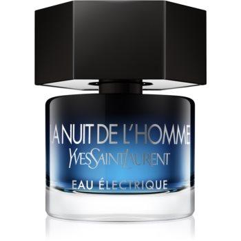 Yves Saint Laurent La Nuit de L'Homme Eau Électrique Eau de Toilette pentru bărbați