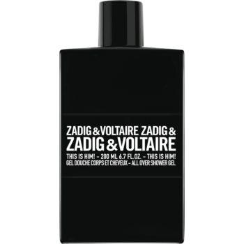Zadig & Voltaire This is Him! gel de duș pentru bărbați