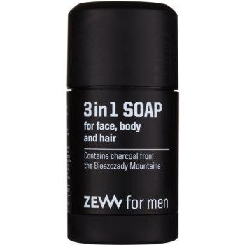 Zew For Men Sapun natural pentru fata, corp si par 3 in 1 imagine 2021 notino.ro