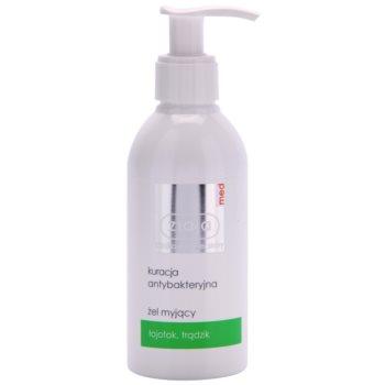 Ziaja Med Antibacterial Care gel de curățare pentru ten gras si problematic notino.ro