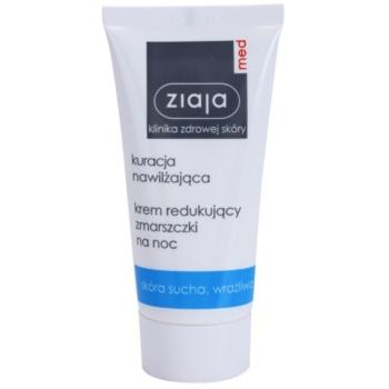 Ziaja Med Hydrating Care crema de noapte pentru contur pentru ten uscat și sensibil imagine 2021 notino.ro