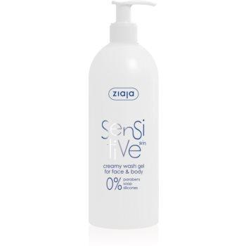 Ziaja Sensitive gel de curatare pentru fata pentru piele sensibila si iritata notino.ro