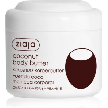 Ziaja Coconut unt pentru corp, hranitor imagine 2021 notino.ro