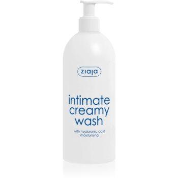 Ziaja Intimate Creamy Wash gel de curatare hidratant pentru igiena intima imagine 2021 notino.ro