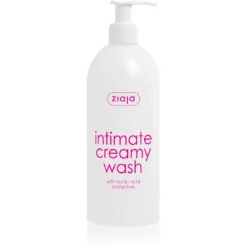 Ziaja Intimate Creamy Wash Gel delicat pentru igiena intima imagine 2021 notino.ro