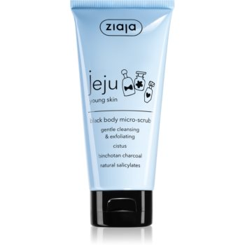 Ziaja Jeju Young Skin exfoliant pentru corp negru imagine 2021 notino.ro