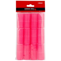 Chromwell Accessories Pink selbsthaftende Lockenwickler