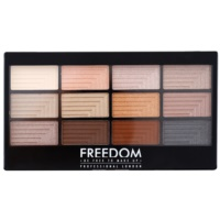 Freedom Pro 12 Le Fabuleux paletka očných tieňov s aplikátorom