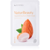 KORIKA NaturBeauty nourishing face sheet mask