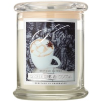 Kringle Candle Cashmere & Cocoa scented candle