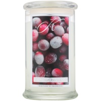 Kringle Candle Frosted Cranberry scented candle