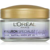 L'Oréal Paris Hyaluron Specialist vyplňujúci hydratačný krém SPF 20