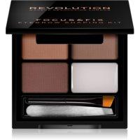 Makeup Revolution Focus & Fix sada pre dokonalé obočie